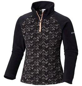 Columbia Glacial™ II Fleece Print Half Zip Black Arrows