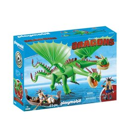 Playmobil Dragons - Ruffnut and Tuffnut with Barf & Belch