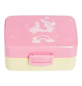 A Little Lovely Company Lunch Box Unicorn