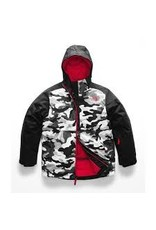 The North Face Boy's Brayden Insulated Jacket TNF Black Camouflage Print