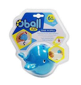 Oball H20 Sink 'n Spill Whale Bath Toy