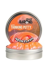Crazy Aaron's Thinking Putty Small tin - Neon Flash