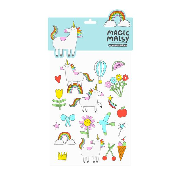 Magic Maisy Window Stickers