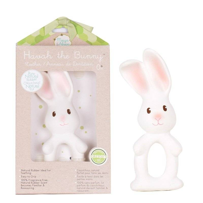 Havah the Bunny Rubber Teether