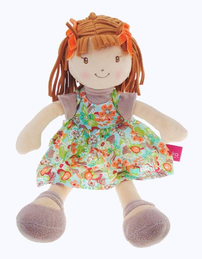 Bonikka Libby-Lu - Brown hair with orange print