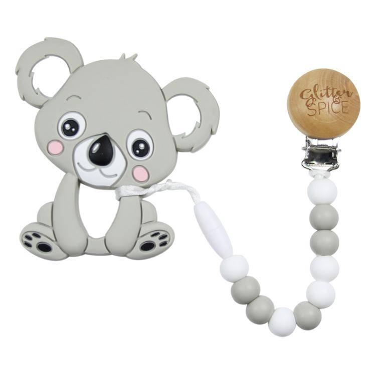 Glitter & Spice Koala Teether - Mint