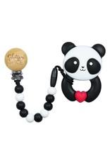 Glitter & Spice Whistle & Flute Kawaii Panda Teether