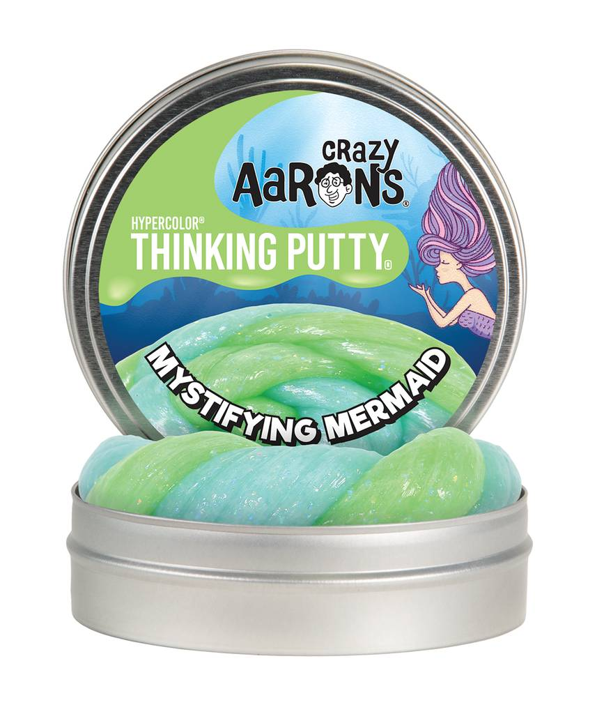 Crazy Aaron's Thinking Putty Mystifying Mermaid Hypercolor