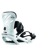 Salomon Rhythm White Snowboard Bindings
