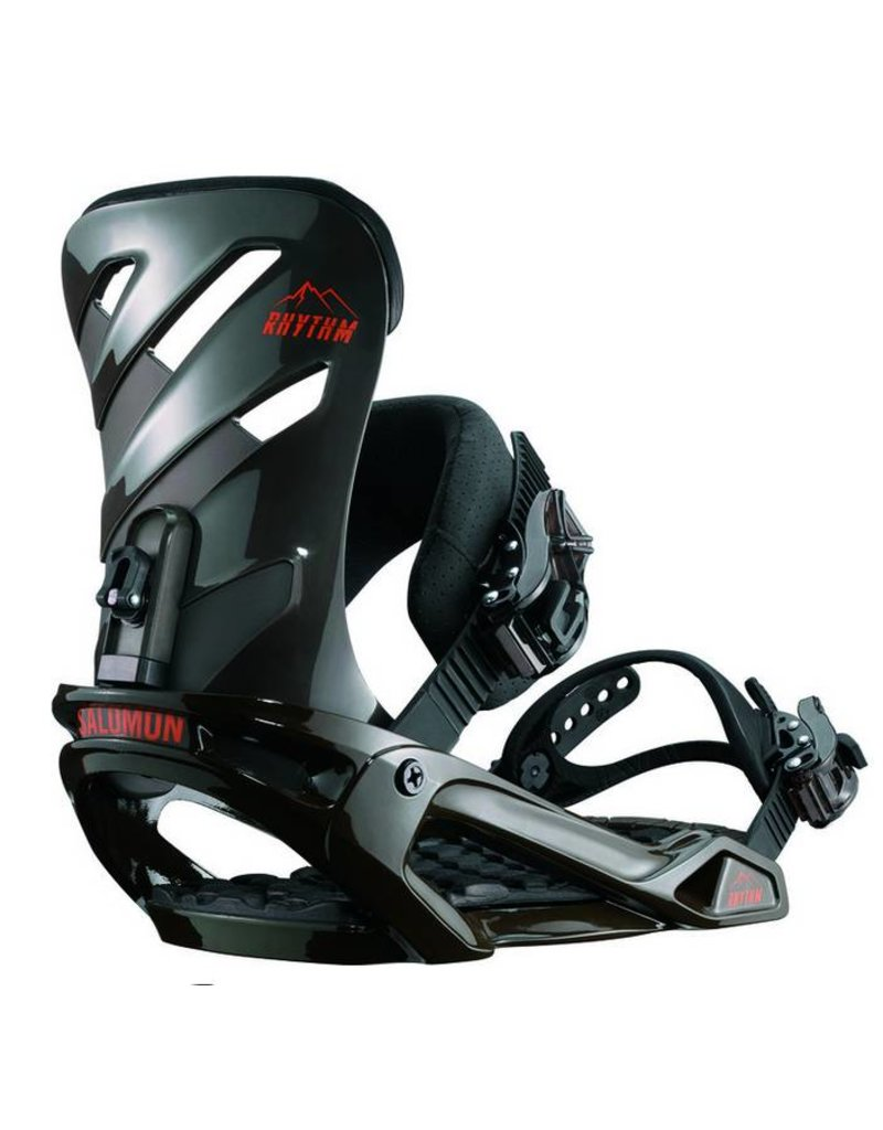 Salomon Rhythm Black Snowboard Bindings