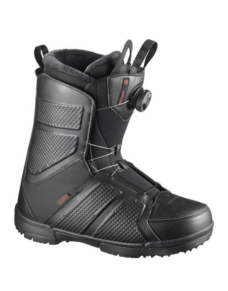 Salomon Faction Black Mens Snowboard Boots