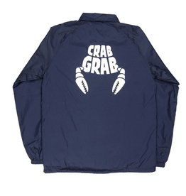 Crab Grab Coach Jacket Navy