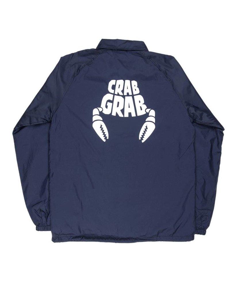 Crab Grab Coach Jacket Navy