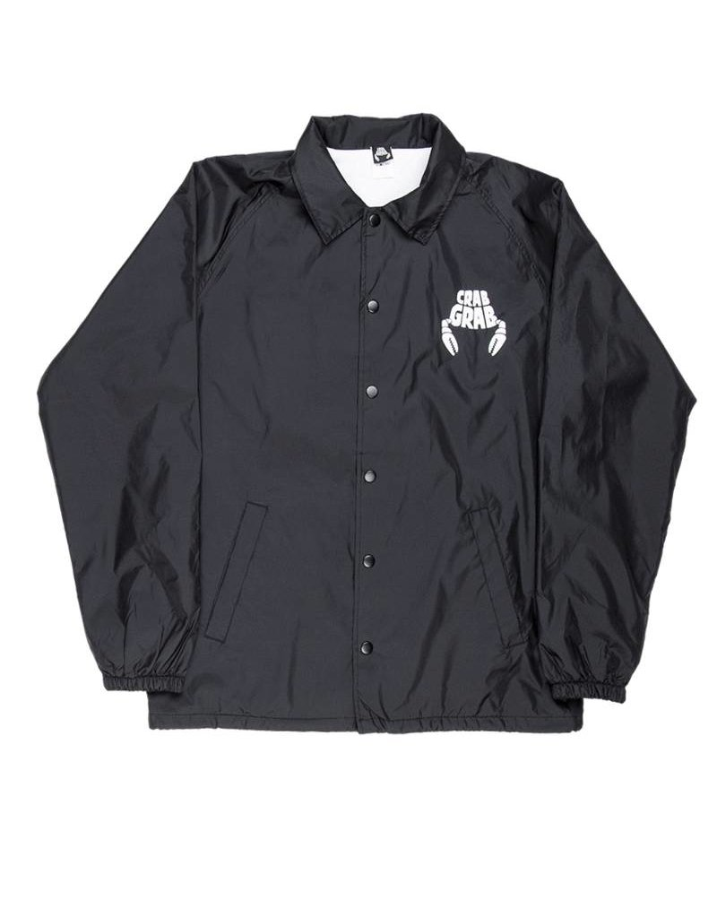 Crab Grab Coach Jacket Black