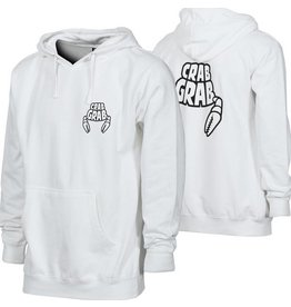 Crab Grab World's Best Hoody White