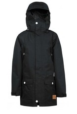 WearColour Concrete Parka Black