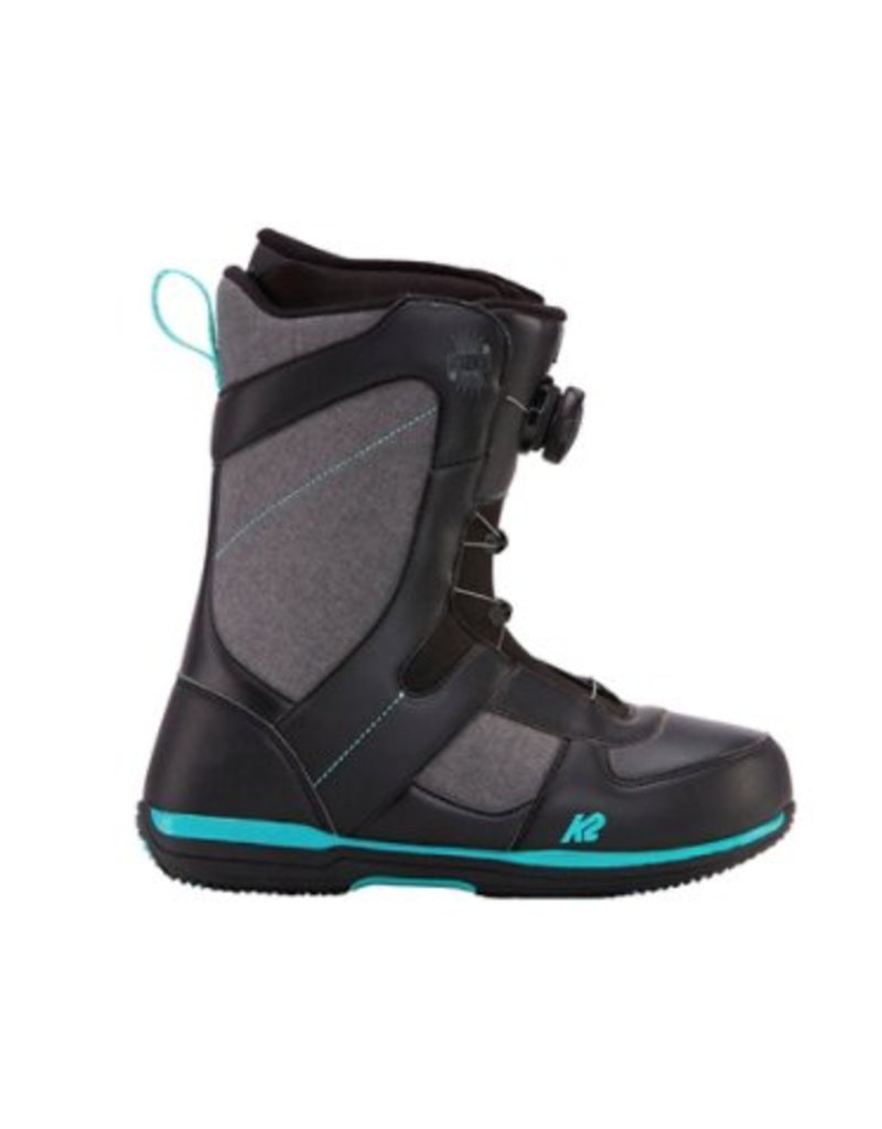 K2 Send IT Black Womens Snowboard Boots