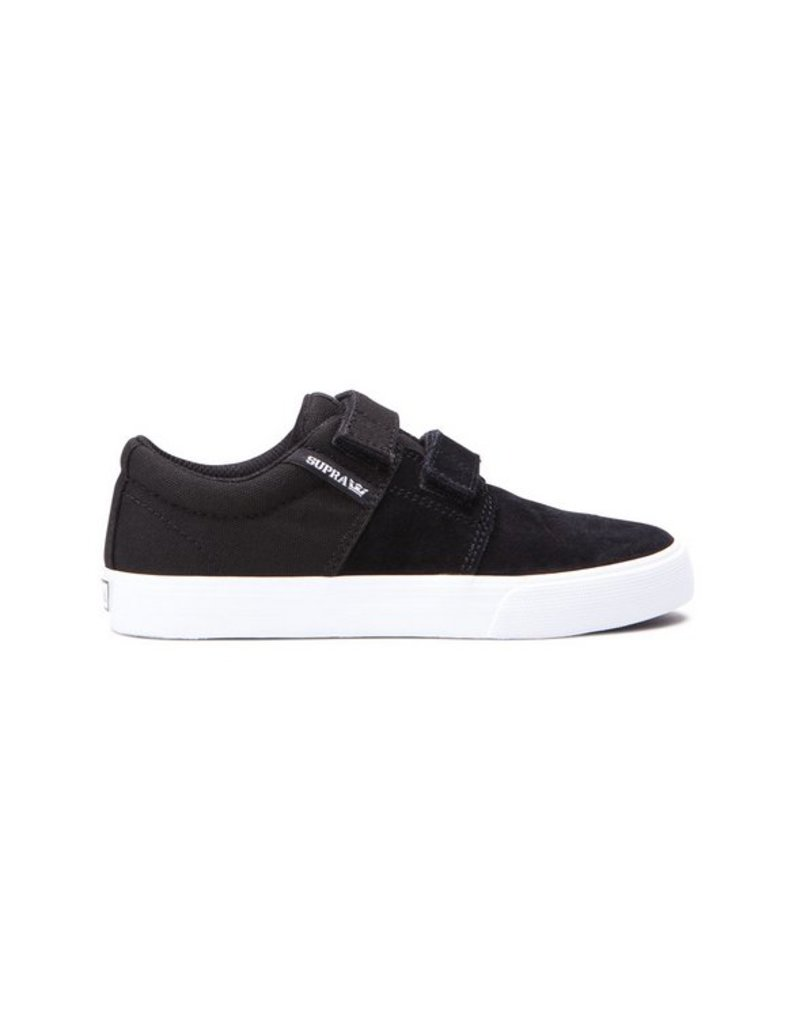 Supra Stacks II Black Skateboard Shoes