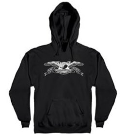 AntiHero Eagle Hood Black/White