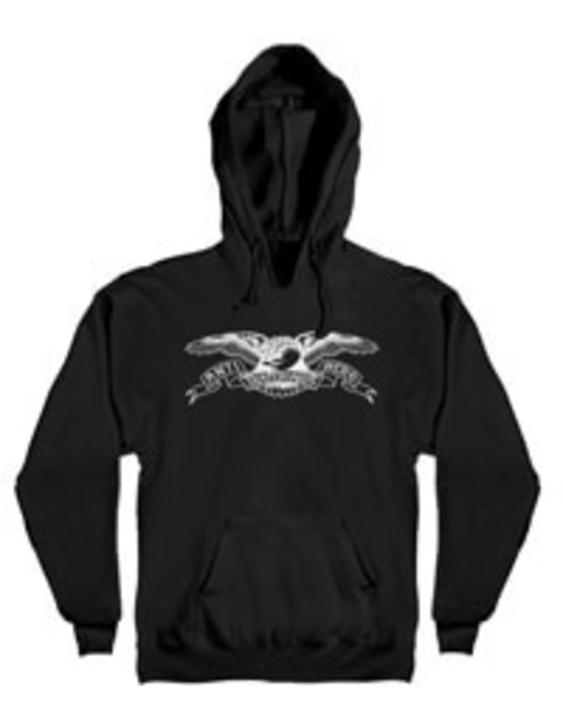 f40ca9fe77b7 AntiHero Eagle Y Hood Black White - YBSS