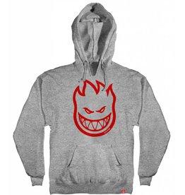 Spitfire Bighead Hood Grey/Red