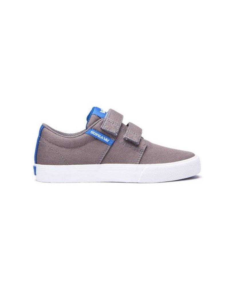 Supra Stacks Velcro II Grey
