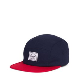 Herschel Youth Glendale Cap Navy/Red