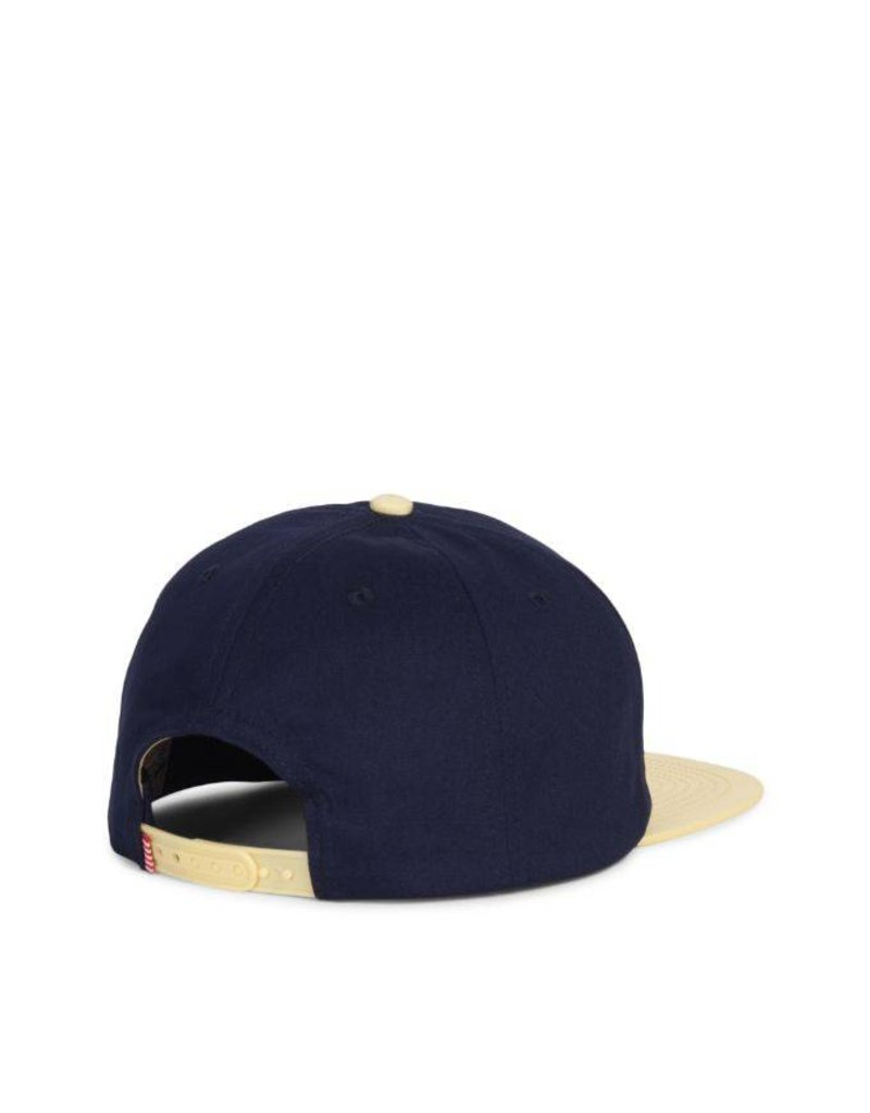 Herschel Youth Outfield Cap Peacoat /  Mellow Yellow