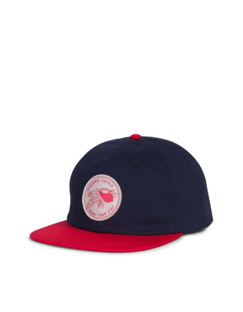 Herschel Youth Outfield Cap Navy/Red
