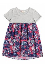 Roxy Branch of Lilac Dress Rouge Red