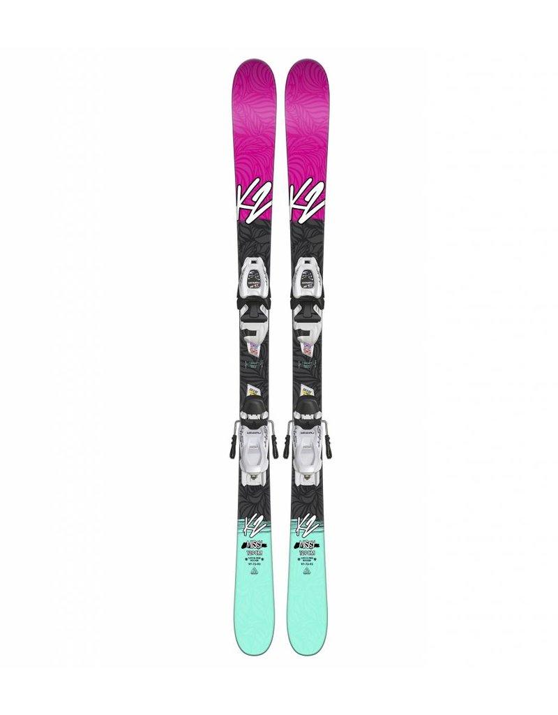 K2 Missy w/ Marker FTD 4.5 Kids Skis