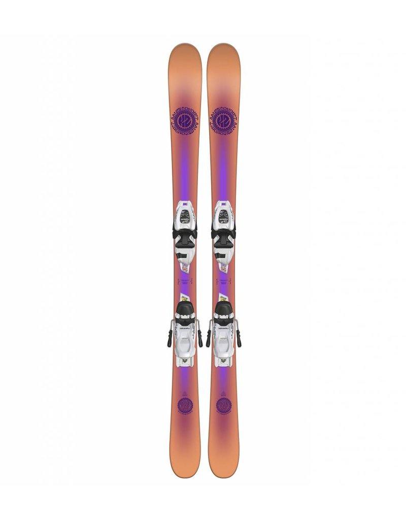 K2 Missconduct JR w/ Marker FDT 7.0 Kids Skis
