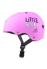 TRIPLE 8 Triple 8 Little Tricky Pink XS Kids Skateboard and Bike Helmet