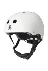 TRIPLE 8 Triple 8 Lil 8 White XS Kids Skateboard and Bike Helmet