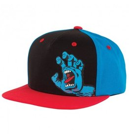 Santa Cruz Screaming Hand SB Black/Blue/Red