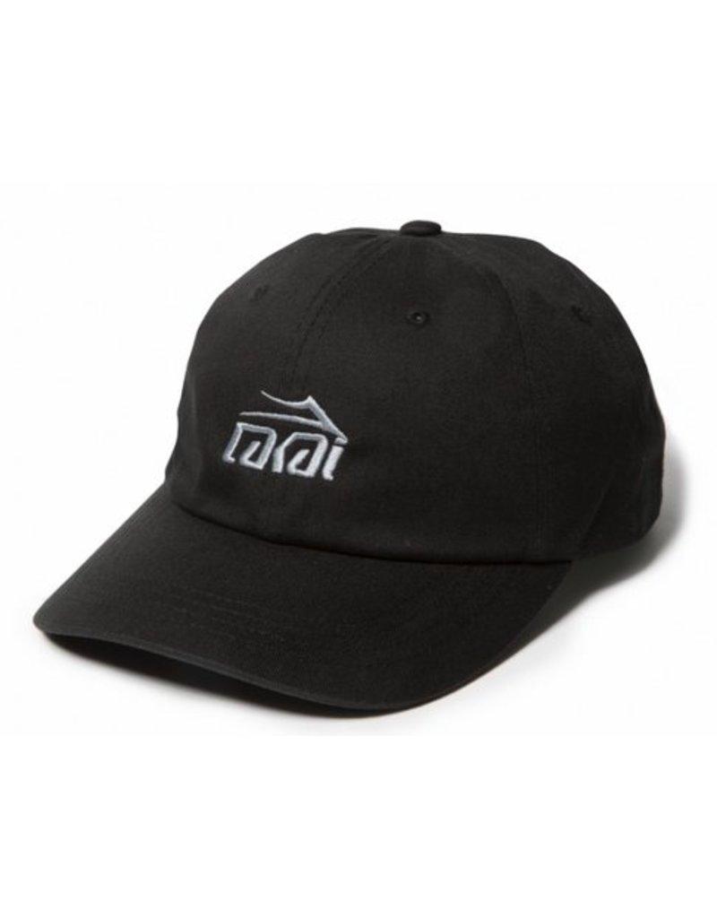 Lakai Logo Dad Hat Black
