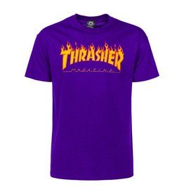 Thrasher Flame T Purple
