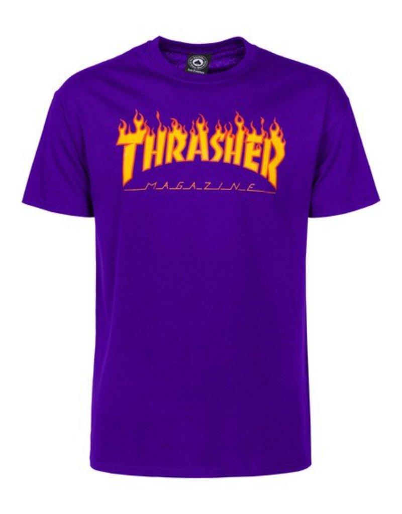 Thrasher Flame T Purple