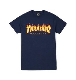 Thrasher Flame T Navy