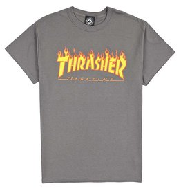 Thrasher Flame T Charcoal