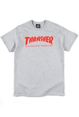 Thrasher Skate Mag T Grey/Red