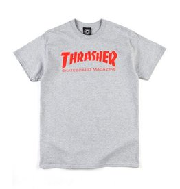 Thrasher Skate Mag T Grey/Red