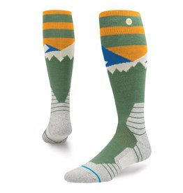 Stance Snow Long Way Green M