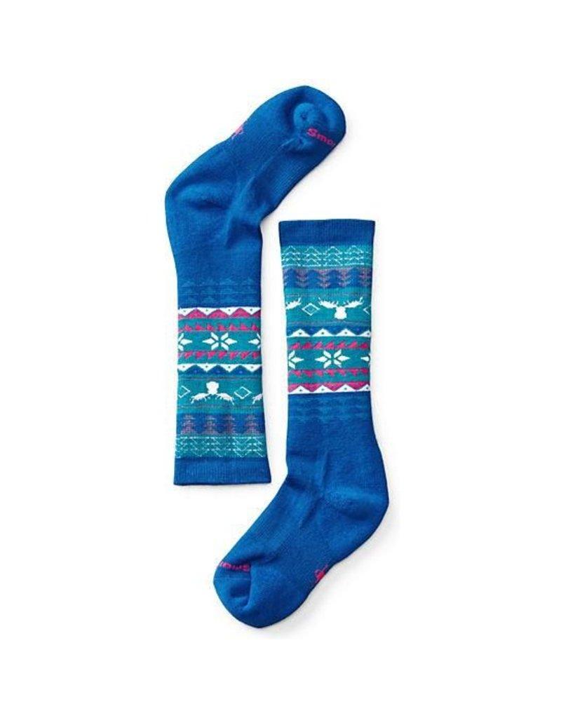 Smart Wool Fairisle Blue
