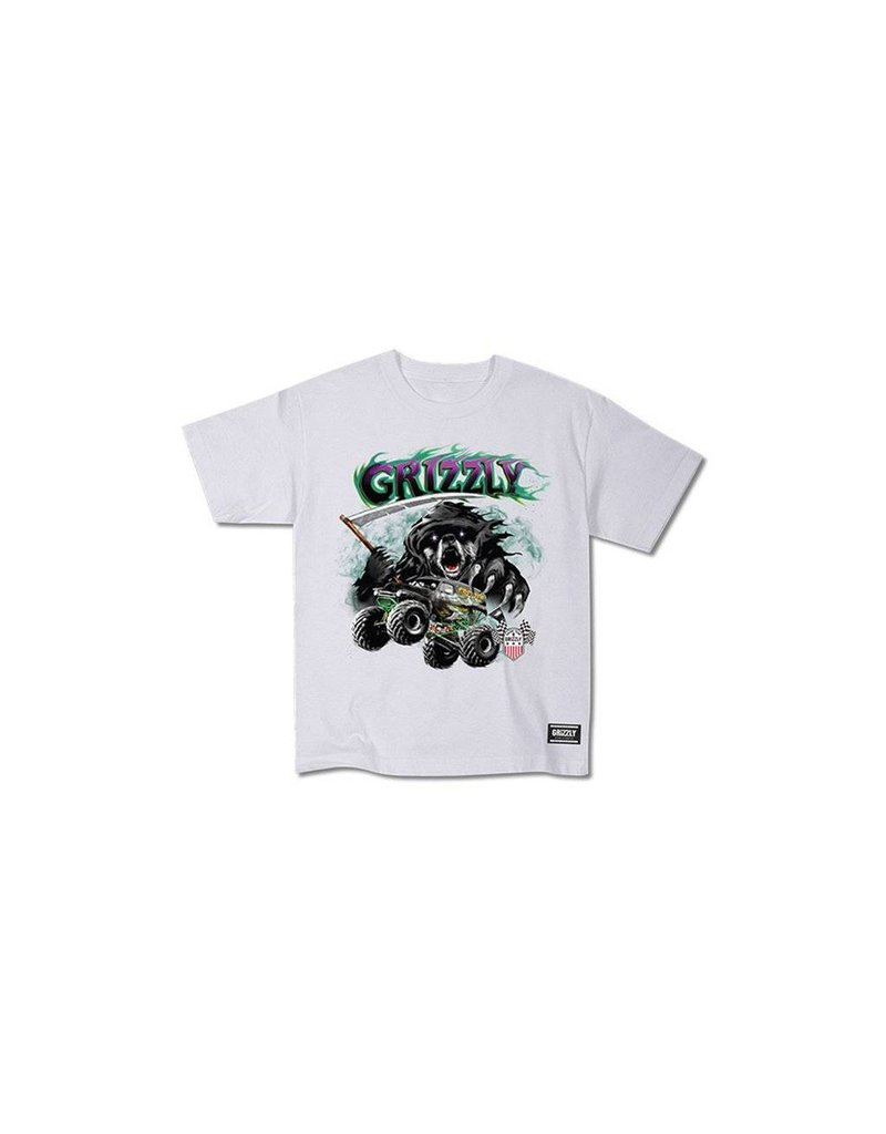 Grizzly Cavedigger White Kids T-Shirt