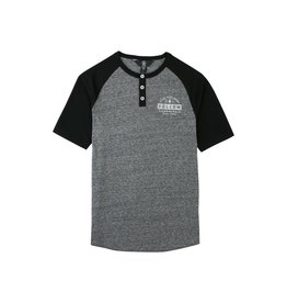 Volcom Banks Henley T Black