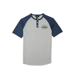 Volcom Banks Henley T Deep Blue
