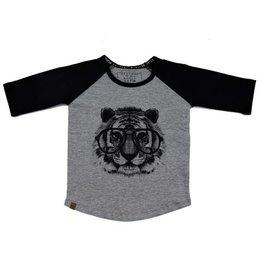 L&P L&P Raglan T Tiger Black