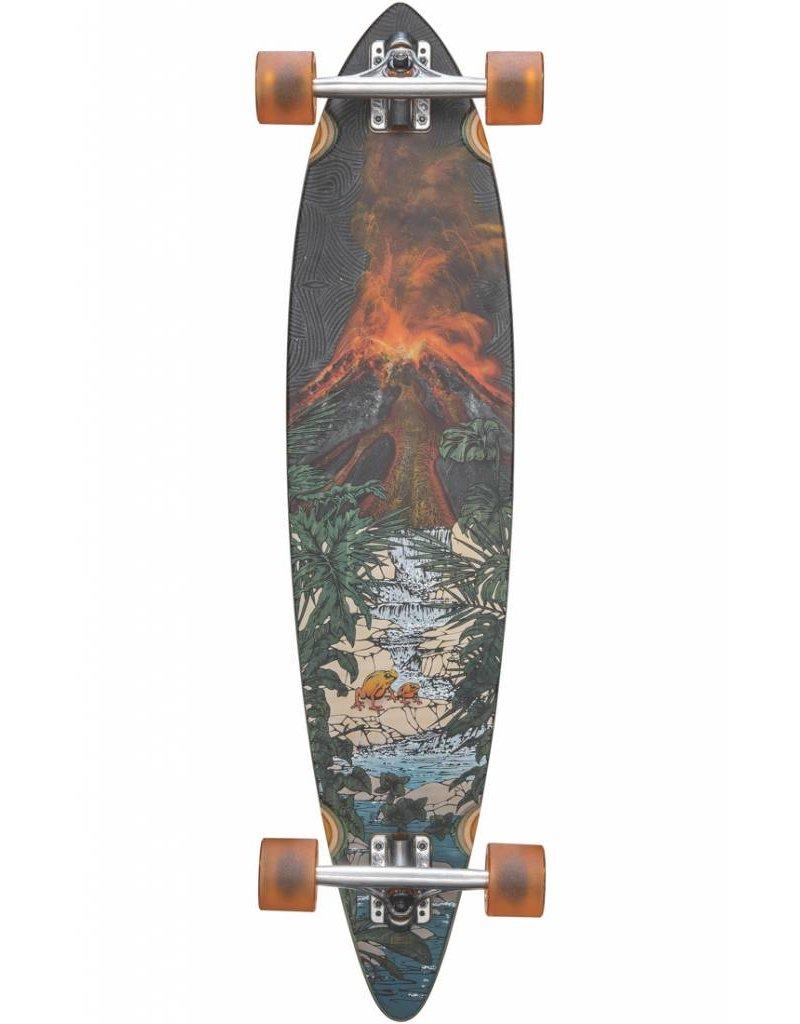 "Globe Pintail 37"" Tropic Lava Longboard"