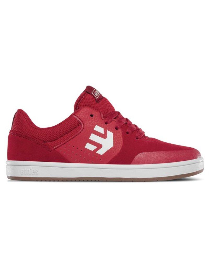 Etnies Marana Red/White Kids Skateboard Shoe